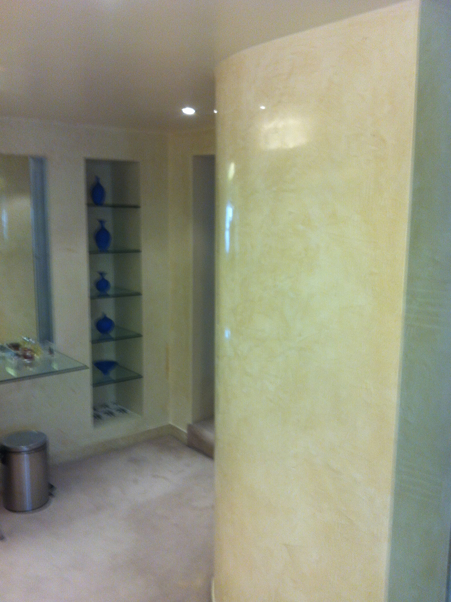 Venetian Plaster And Other Modern Plaster Walls: Domestic Polished Plaster